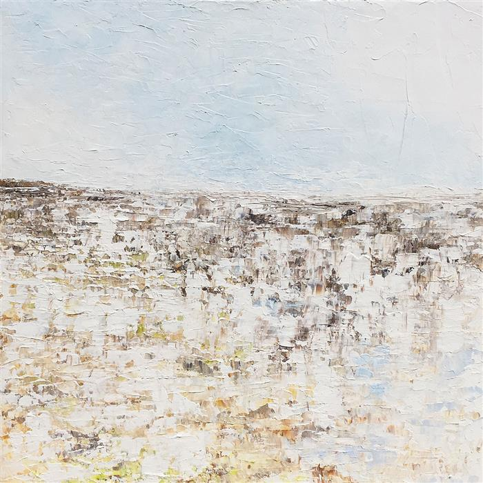 Original art for sale at UGallery.com | Spring by RUTH LAGUE | $2,700 |  | 30' h x 30' w | ..\art\acrylic-painting-Spring-54134