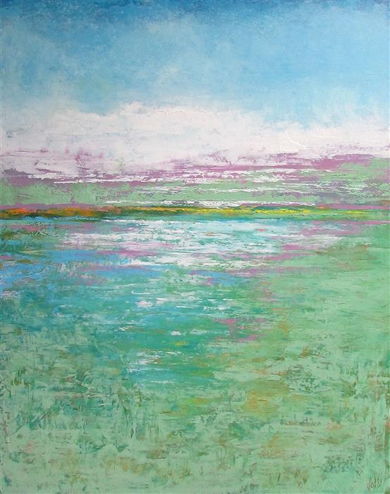 Original art for sale at UGallery.com | Spring Symphony by VALERIE BERKELY | $975 |  | 30' h x 24' w | ..\art\oil-painting-Spring-Symphony