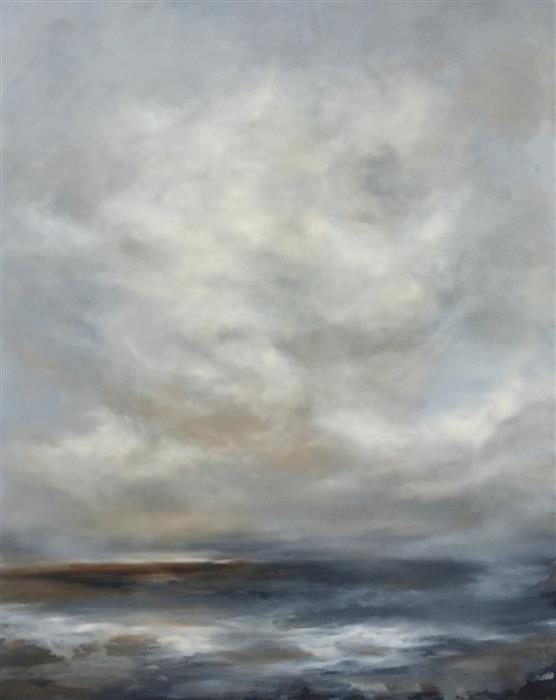 Original art for sale at UGallery.com | While I Was Dreaming by FAITH TAYLOR | $5,825 |  | 60' h x 48' w | ..\art\oil-painting-While-I-Was-Dreaming