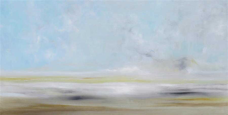 Original art for sale at UGallery.com | Dawn Awakens by JENN WILLIAMSON | $1,125 | Acrylic painting | 18' h x 36' w | ..\art\acrylic-painting-Dawn-Awakens