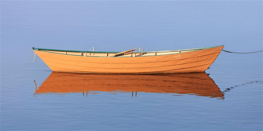 Original art for sale at UGallery.com | Sunlit Dory by Katherine Gendreau | $25 | photography | 20' h x 10' w | ..\art\photography-Sunlit-Dory