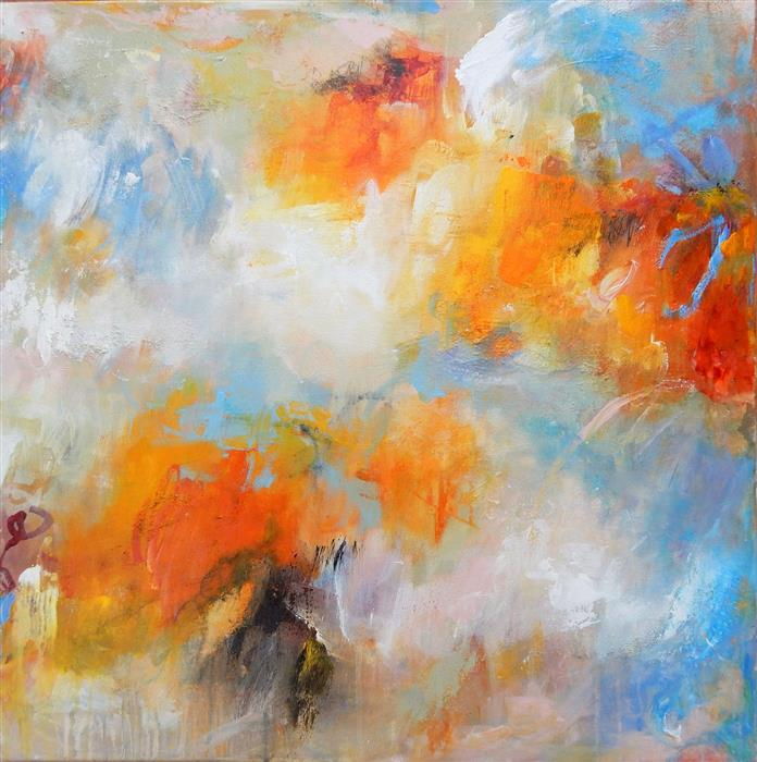 Original art for sale at UGallery.com | Endless Summer Series #3 by HILMA KOELMAN | $1,300 |  | 24' h x 24' w | ..\art\acrylic-painting-Endless-Summer-Series-3