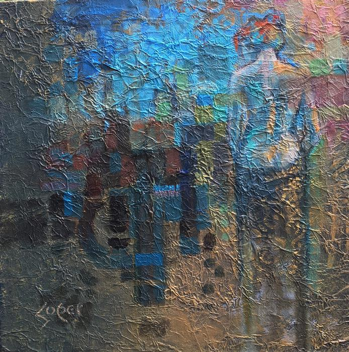 Original art for sale at UGallery.com | Mystere by PATRICK SOPER | $875 |  | 12' h x 12' w | ..\art\oil-painting-Mystere