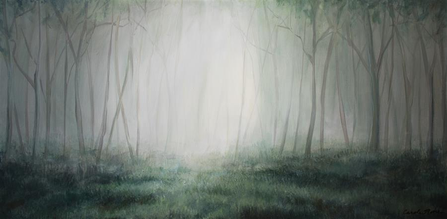 Original art for sale at UGallery.com | The Glade by Carole Moore | $1,975 | acrylic painting | 20' h x 40' w | ..\art\acrylic-painting-The-Glade