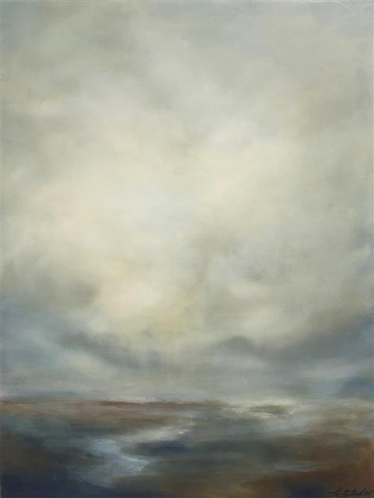 Original art for sale at UGallery.com | Calm by FAITH TAYLOR | $1,675 |  | 30' h x 24' w | ..\art\oil-painting-Calm-55223
