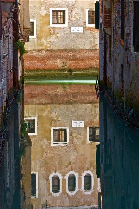 Original art for sale at UGallery.com | Canal Mystique by Ronald Erskine | $25 | photography | 18' h x 12' w | ..\art\photography-Canal-Mystique
