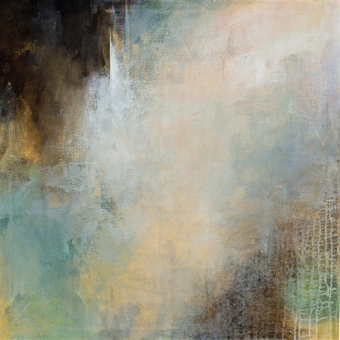 Original art for sale at UGallery.com | Gaze Inward I by KAREN HALE | $2,000 |  | 30' h x 30' w | ..\art\acrylic-painting-Gaze-Inward-I