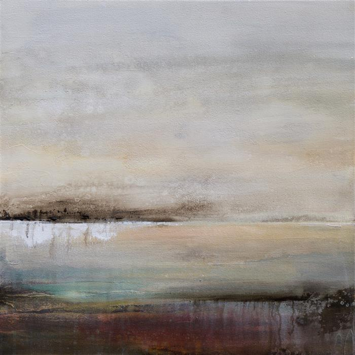 Original art for sale at UGallery.com | No End In Sight I by KAREN HALE | $1,350 |  | 24' h x 24' w | ..\art\acrylic-painting-No-End-In-Sight-I