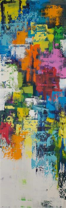 Original art for sale at UGallery.com | The Fill by MIA TARDUCCI | $5,150 |  | 72' h x 26' w | ..\art\oil-painting-The-Fill