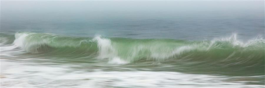 Original art for sale at UGallery.com | Surfside Beach Wave Crash by Katherine Gendreau | $25 | photography | 36' h x 12' w | ..\art\photography-Surfside-Beach-Wave-Crash