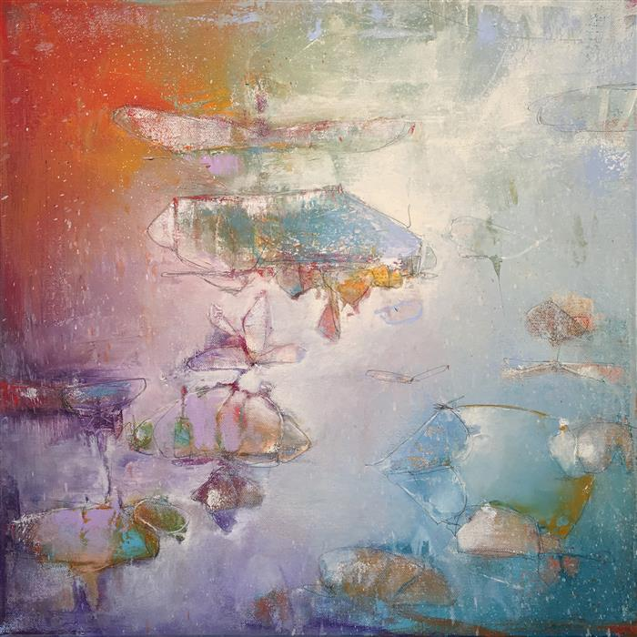 Original art for sale at UGallery.com | Fly Dragonfly, Fly! by JOSHUA HOGAN | $775 |  | 18' h x 18' w | ..\art\oil-painting-Fly-Dragonfly-Fly