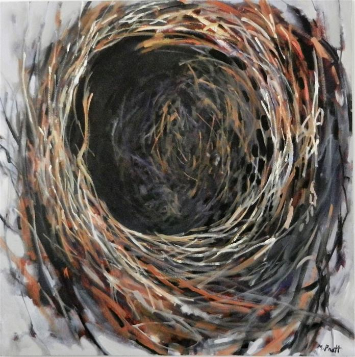 Original art for sale at UGallery.com | Empty Nest by MARY PRATT | $4,275 |  | 48' h x 48' w | ..\art\oil-painting-Empty-Nest