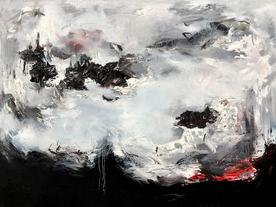 Original art for sale at UGallery.com | Mutiny by Nicholas Kriefall | $3,175 | oil painting | 30' h x 40' w | ..\art\oil-painting-Mutiny