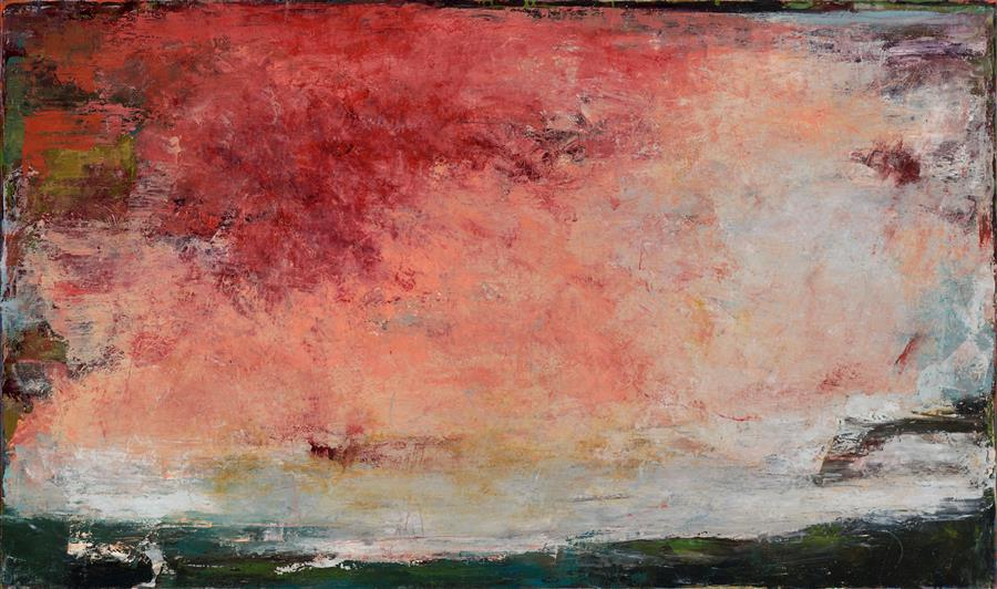 Original art for sale at UGallery.com | Even In the Breeze of This Beginning Hour, We Breathe Farewell by Lisa Manes-James | $3,375 | oil painting | 31' h x 50' w | ..\art\oil-painting-Even-In-the-Breeze-of-This-Beginning-Hour-We-Breathe-Farewell