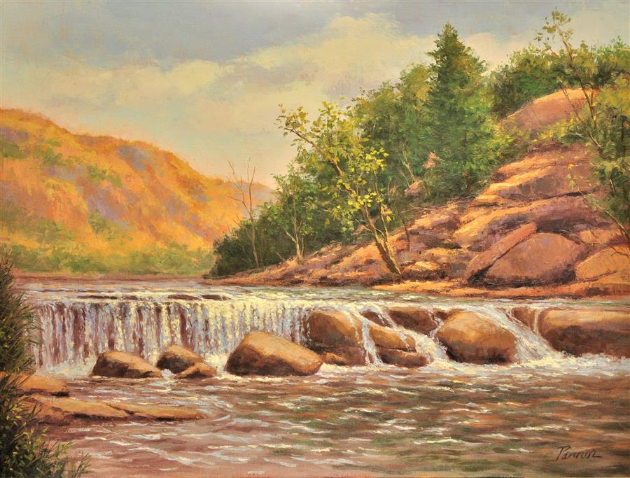 Original art for sale at UGallery.com | Sedona, Oak Creek by ROBERT PENNOR | $1,100 |  | 18' h x 24' w | ..\art\oil-painting-Sedona-Oak-Creek