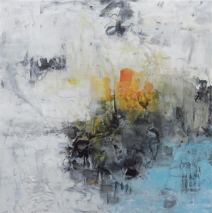 Original art for sale at UGallery.com | Timeless III by Jenn Williamson | $650 | mixed media artwork | 12' h x 12' w | ..\art\mixed-media-artwork-Timeless-III