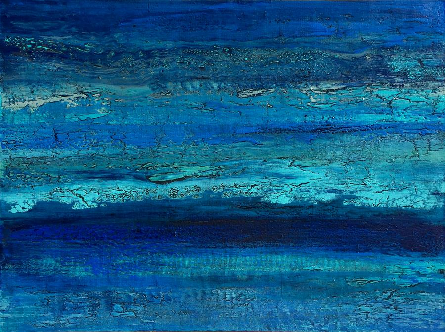 Original art for sale at UGallery.com | Under the Moonlight II by ALICIA DUNN | $1,900 |  | 30' h x 40' w | ..\art\acrylic-painting-Under-the-Moonlight-II