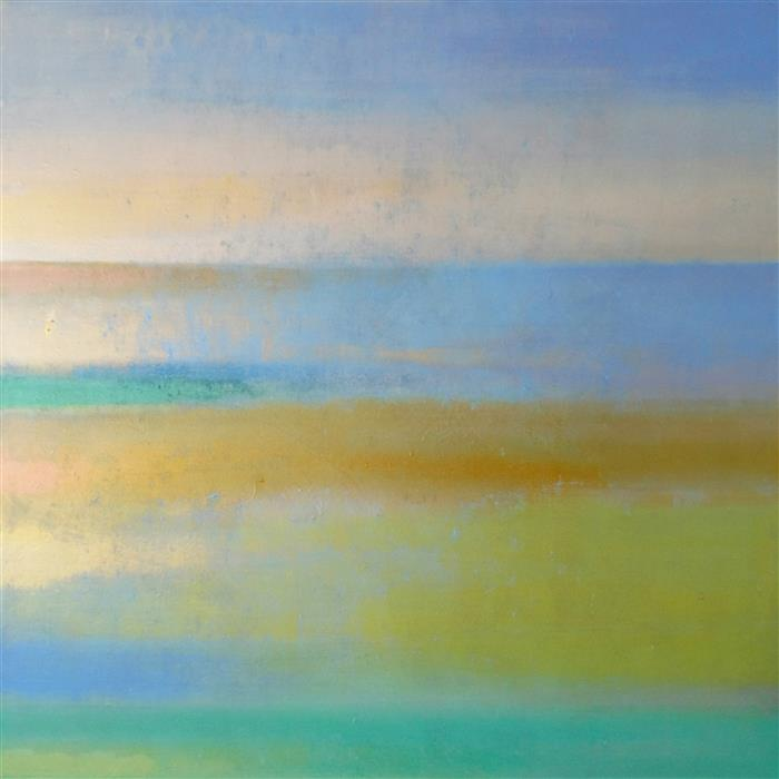 Original art for sale at UGallery.com | New Day by DENISE CHOPPIN | $2,050 |  | 36' h x 36' w | ..\art\acrylic-painting-New-Day-58573