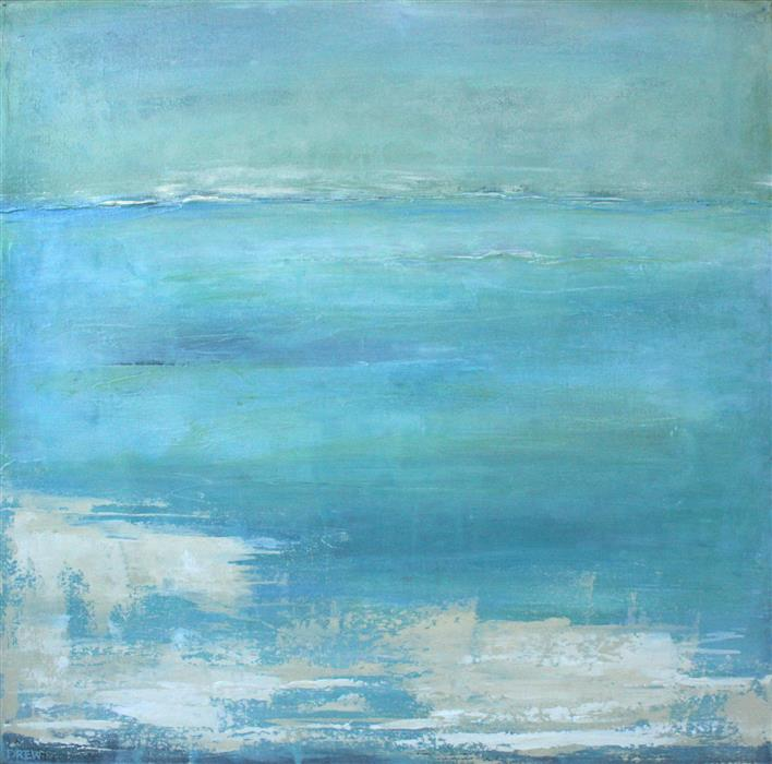 Original art for sale at UGallery.com | Tide by Drew Noel Marin | $1,350 | acrylic painting | 24' h x 24' w | ..\art\acrylic-painting-Tide-58829