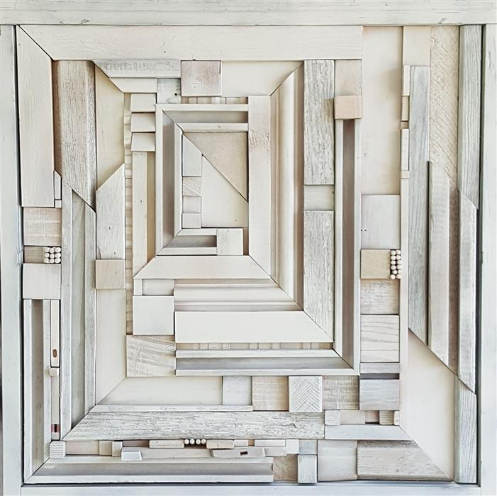 Original art for sale at UGallery.com | Welcome by HEATHER PATTERSON | $2,075 |  | 26' h x 26' w | ..\art\sculpture-Welcome