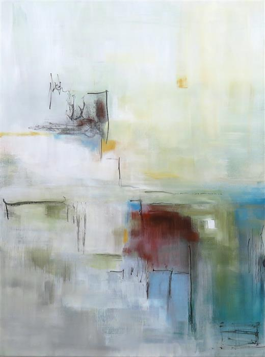 Original art for sale at UGallery.com | Transitions I by Jenn Williamson | $950 | acrylic painting | 24' h x 18' w | ..\art\acrylic-painting-Transitions-I