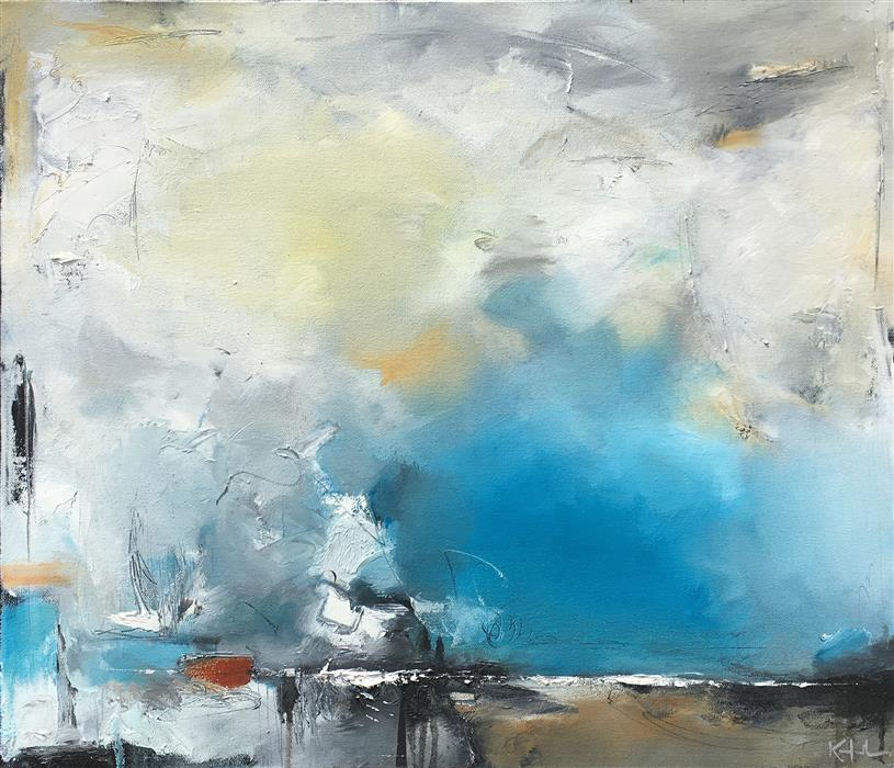 Original art for sale at UGallery.com | After the Storm by NICHOLAS KRIEFALL | $1,850 |  | 20' h x 24' w | ..\art\oil-painting-After-the-Storm-60275
