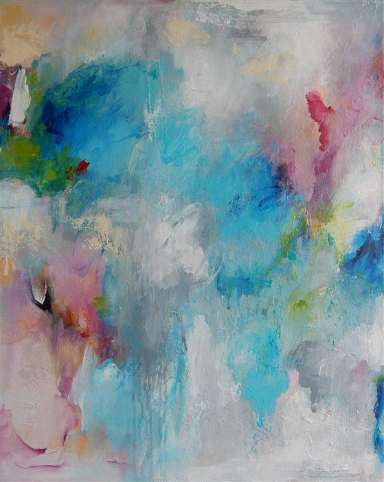 Original art for sale at UGallery.com | Believe by Hilma Koelman | $1,725 | acrylic painting | 30' h x 24' w | ..\art\acrylic-painting-Believe
