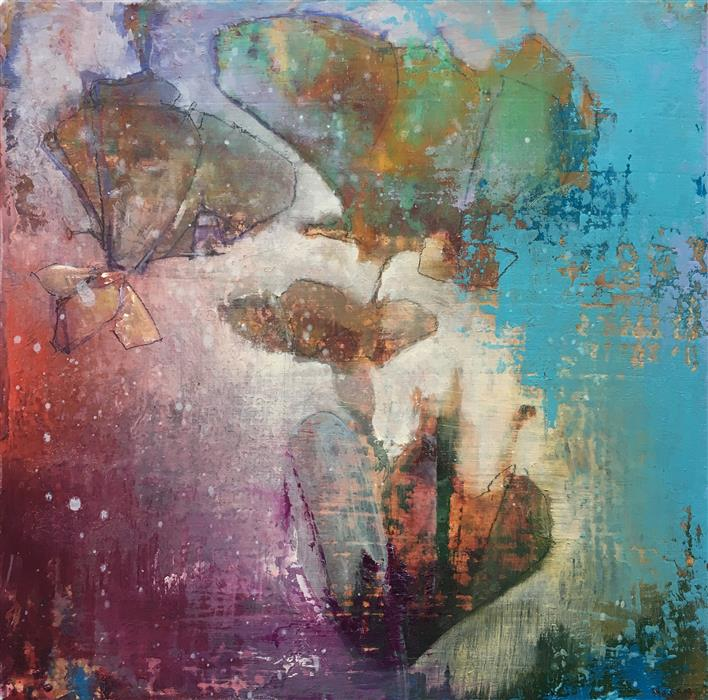 Original art for sale at UGallery.com | Lean Into Me by JOSHUA HOGAN | $400 |  | 9' h x 9' w | ..\art\oil-painting-Lean-Into-Me