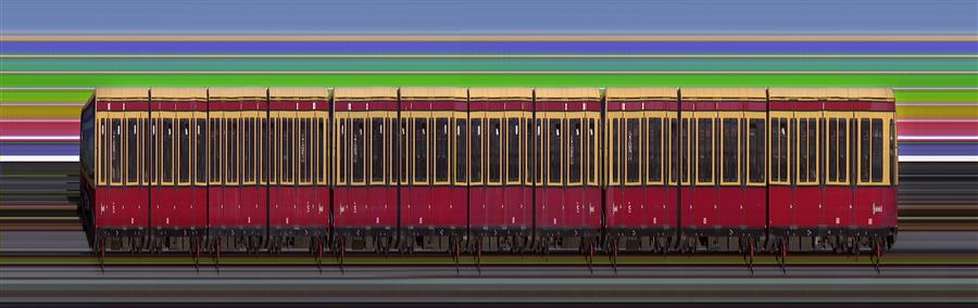 Original art for sale at UGallery.com | S-Bahn Berlin by Ansen Seale | $25 | photography | 38' h x 12' w | ..\art\photography-S-Bahn-Berlin