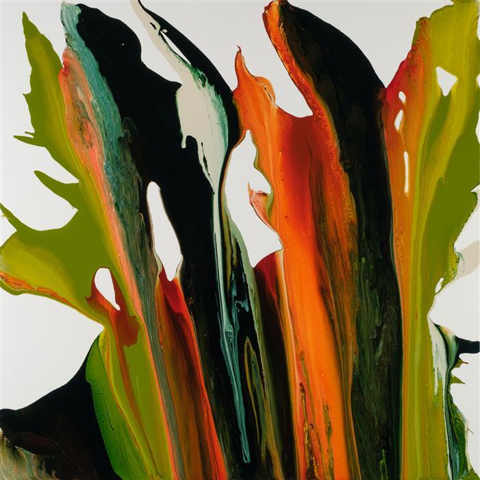 Original art for sale at UGallery.com | Virtuoso by Krispen Spencer | $2,100 | acrylic painting | 36' h x 36' w | ..\art\acrylic-painting-Virtuoso-61094
