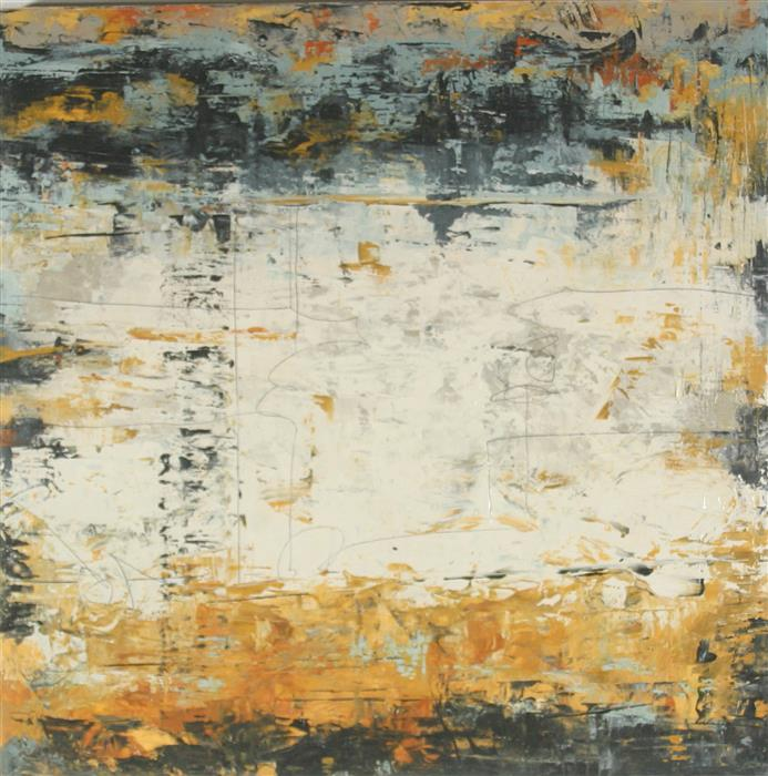 Original art for sale at UGallery.com | Someplace between Here and There by Patricia Oblack | $1,850 | mixed media artwork | 24' h x 24' w | ..\art\mixed-media-artwork-Someplace-between-Here-and-There