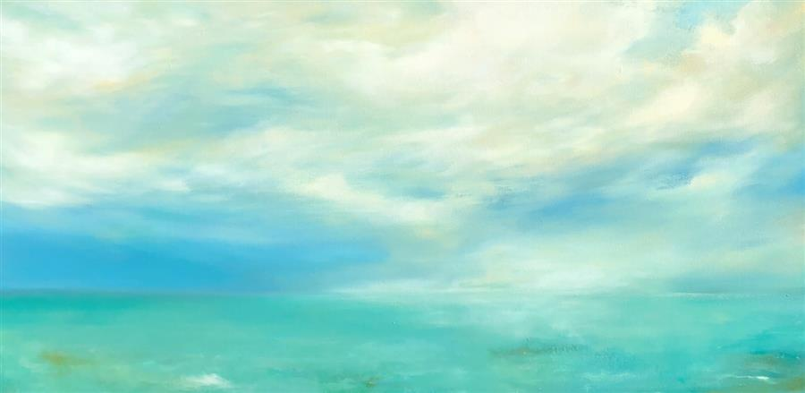 Original art for sale at UGallery.com | Dreams And Ambition by FAITH TAYLOR | $2,350 |  | 24' h x 48' w | ..\art\oil-painting-Dreams-And-Ambition