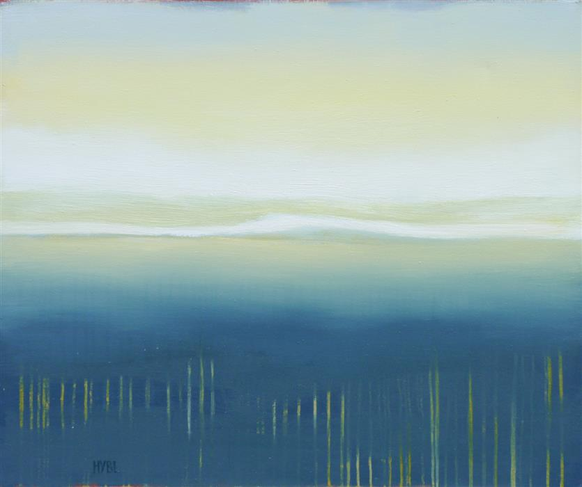 Original art for sale at UGallery.com | White Sky by HEIDI HYBL | $2,700 |  | 30' h x 36' w | ..\art\oil-painting-White-Sky