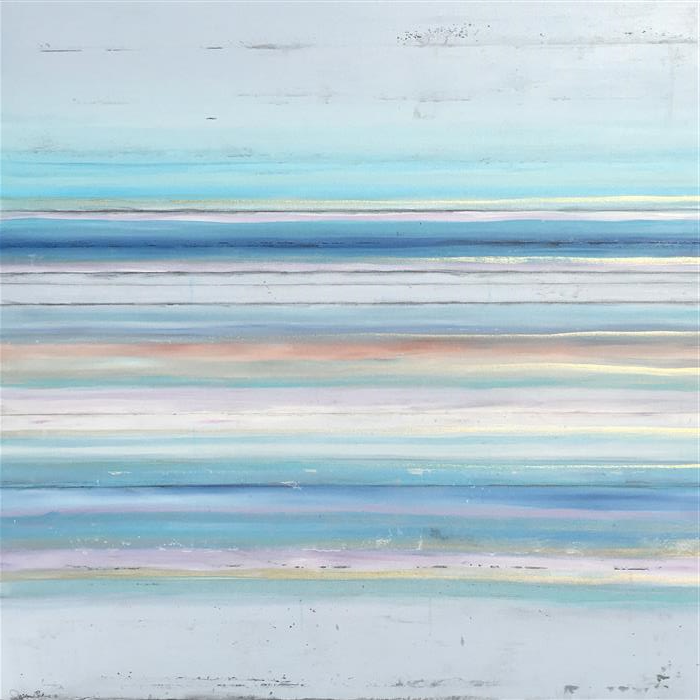 Original art for sale at UGallery.com | Breathe in the Air by Teresa Dirks | $2,900 | mixed media artwork | 36' h x 36' w | ..\art\mixed-media-artwork-Breathe-in-the-Air