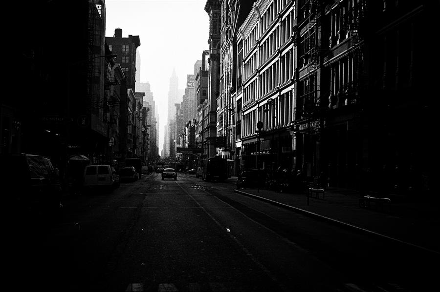 Original art for sale at UGallery.com | Broadway, Manhattan by Adam Garelick | $25 | photography | 15' h x 10' w | ..\art\photography-Broadway-Manhattan