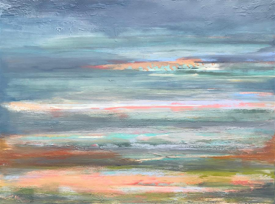 Original art for sale at UGallery.com | A Softer Approach by ALICIA DUNN | $1,800 |  | 30' h x 40' w | ..\art\acrylic-painting-A-Softer-Approach