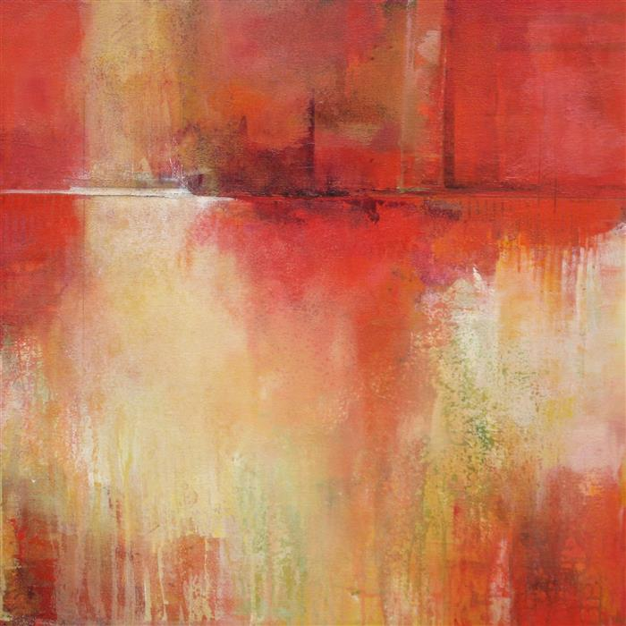 Original art for sale at UGallery.com | Go Forward 1 by Karen Hale | $2,375 | acrylic painting | 32' h x 32' w | ..\art\acrylic-painting-Go-Forward-1