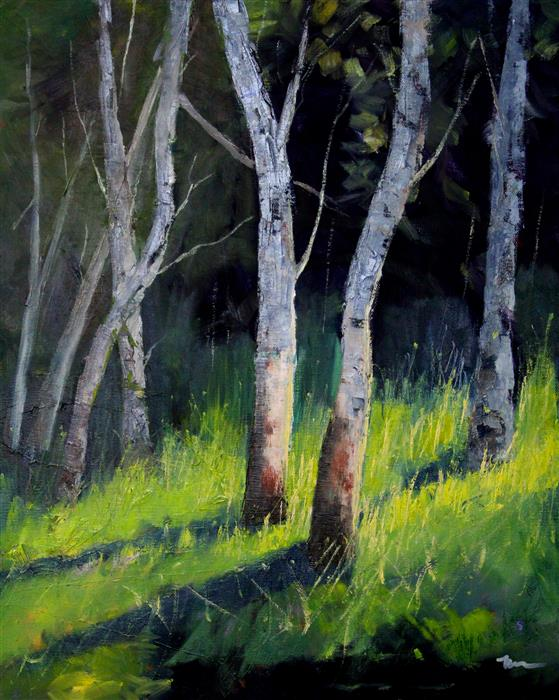 Original art for sale at UGallery.com | Summer Light by Nancy Merkle | $650 | oil painting | 20' h x 16' w | ..\art\oil-painting-Summer-Light-63424