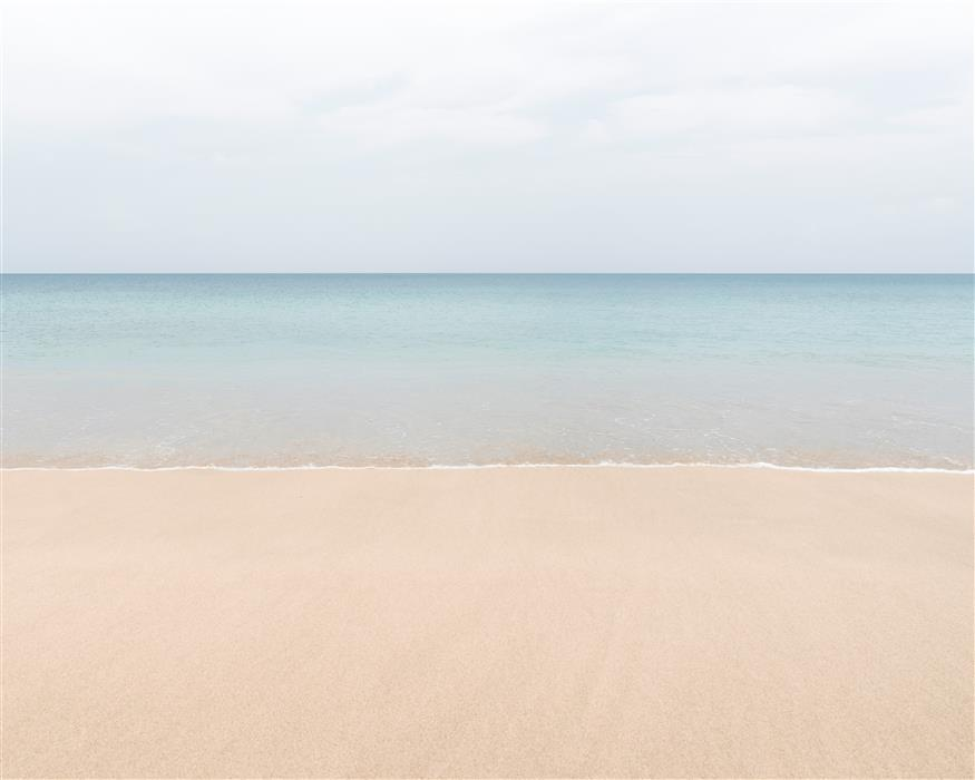 Original art for sale at UGallery.com | Paradise Beach Two by Mia DelCasino | $25 | photography | 24' h x 30' w | ..\art\photography-Paradise-Beach-Two