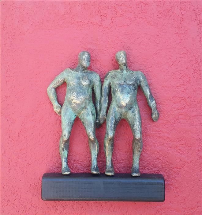Original art for sale at UGallery.com | U-Love by Yelitza Diaz | $675 | sculpture | 12' h x 12' w | ..\art\sculpture-U-Love