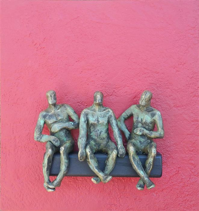 Original art for sale at UGallery.com | U-Friends by Yelitza Diaz | $675 | sculpture | 12' h x 12' w | ..\art\sculpture-U-Friends