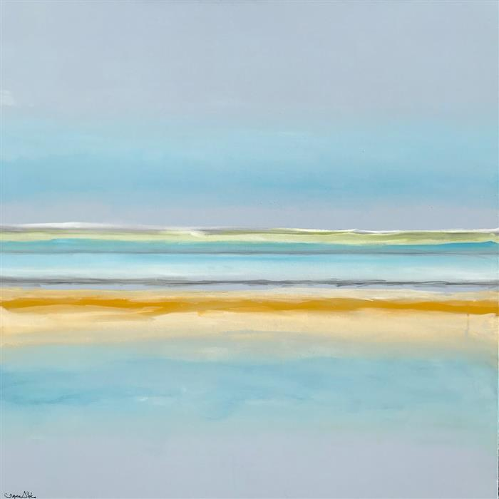 Original art for sale at UGallery.com | Capturing Bliss by Teresa Dirks | $2,900 | mixed media artwork | 36' h x 36' w | ..\art\mixed-media-artwork-Capturing-Bliss
