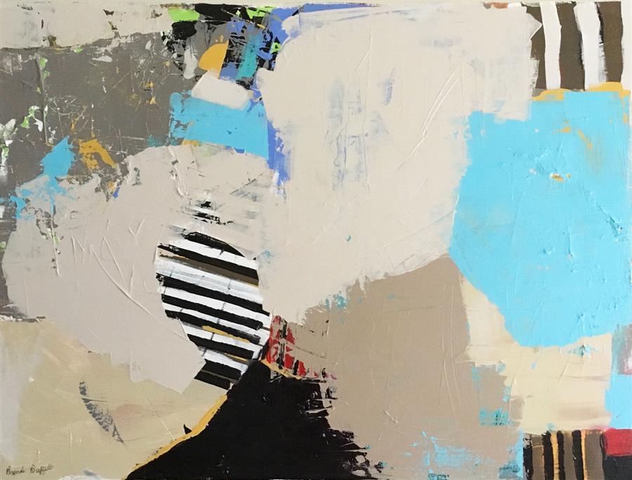 Original art for sale at UGallery.com | January Jive by Brenda Buffett | $1,325 | acrylic painting | 30' h x 40' w | ..\art\acrylic-painting-January-Jive