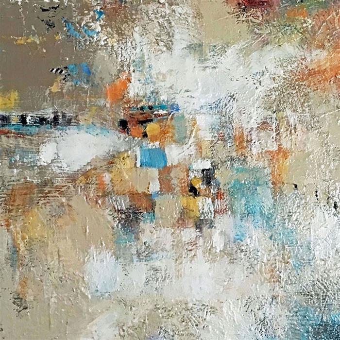 Original art for sale at UGallery.com | The Bluff by Brenda Buffett | $1,300 | acrylic painting | 36' h x 36' w | ..\art\acrylic-painting-The-Bluff-63693