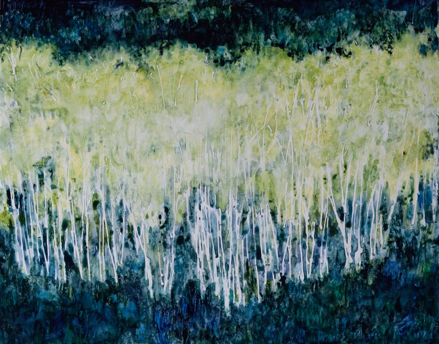Original art for sale at UGallery.com | Into the Light by Tamara Gonda | $425 | watercolor painting | 11' h x 14' w | ..\art\watercolor-painting-Into-the-Light