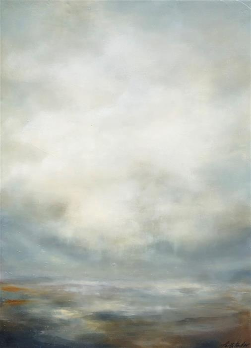 Original art for sale at UGallery.com | Calm II by FAITH TAYLOR | $925 |  | 24' h x 18' w | ..\art\oil-painting-Calm-II