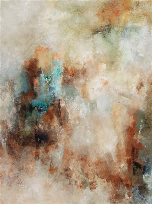 Original art for sale at UGallery.com | Staccato by Karen Hansen | $3,025 | acrylic painting | 40' h x 30' w | ..\art\acrylic-painting-Staccato-64343