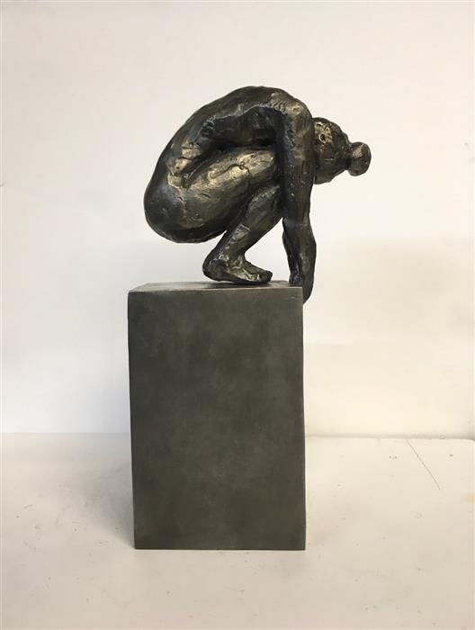 Original art for sale at UGallery.com | Fiddlehead by Camilla Marie Dahl | $2,450 | sculpture | 7.5' h x 4' w | ..\art\sculpture-Fiddlehead