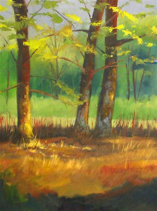 Original art for sale at UGallery.com | Sunny Day by Nancy Merkle | $750 | oil painting | 24' h x 18' w | ..\art\oil-painting-Sunny-Day-64703