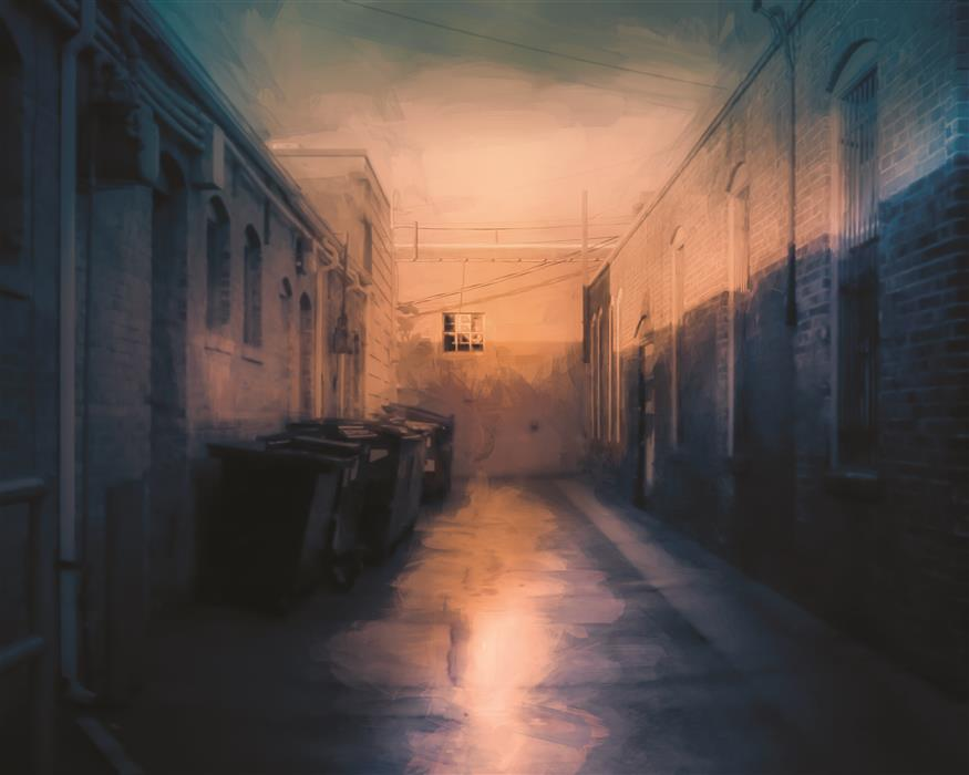 Original art for sale at UGallery.com | Dead End by Yasmine Rafii | $25 | photography | 20' h x 16' w | ..\art\photography-Dead-End